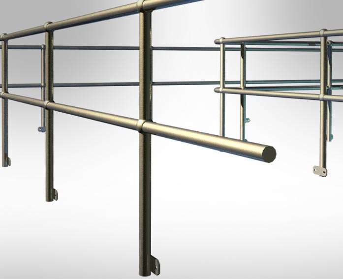 Solid Forged Stanchion
